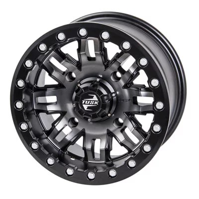 4/137 Teton Beadlock Wheel 15×7 5.0 + 2.0 Gun Metal/Black for Can-Am Maverick Trail 1000 DPS 2018-2019