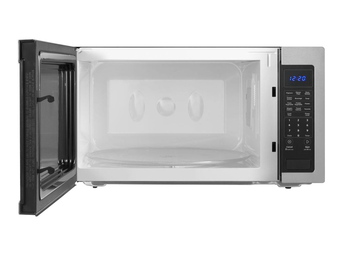 whirlpool whp 2 2 cu ft countertop microwave oven