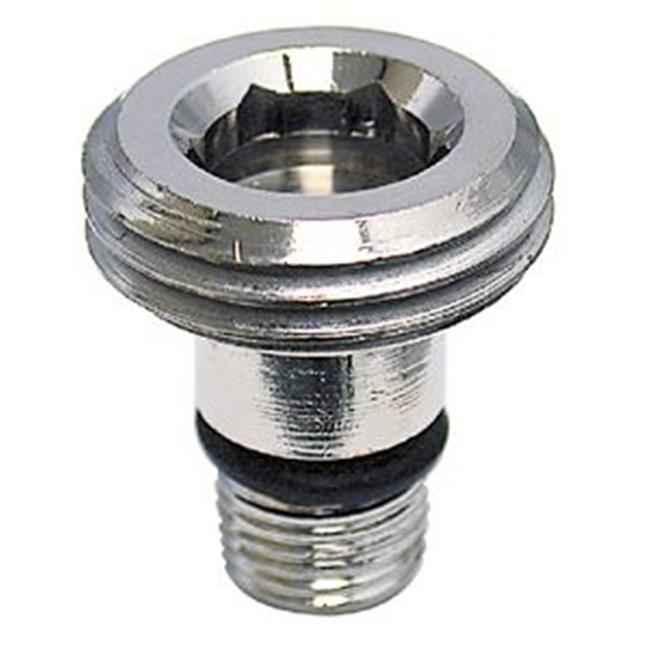 pf273001 dual handle rv bath tub diverter faucet with d spud white