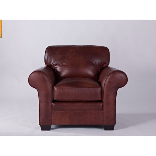 broyhill zachary leather chair