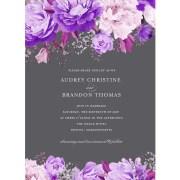 Enchanting Blossoms Standard Wedding Invitation