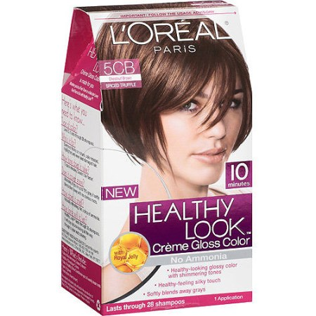 loreal excellence hair color loreal healthy look creme gloss hair dark brown hairs