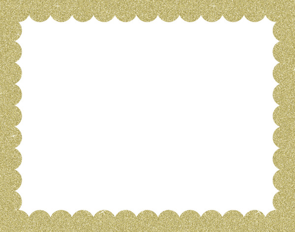 ucreate 22 x28 white poster board with gold glitter frame 25 count walmart com