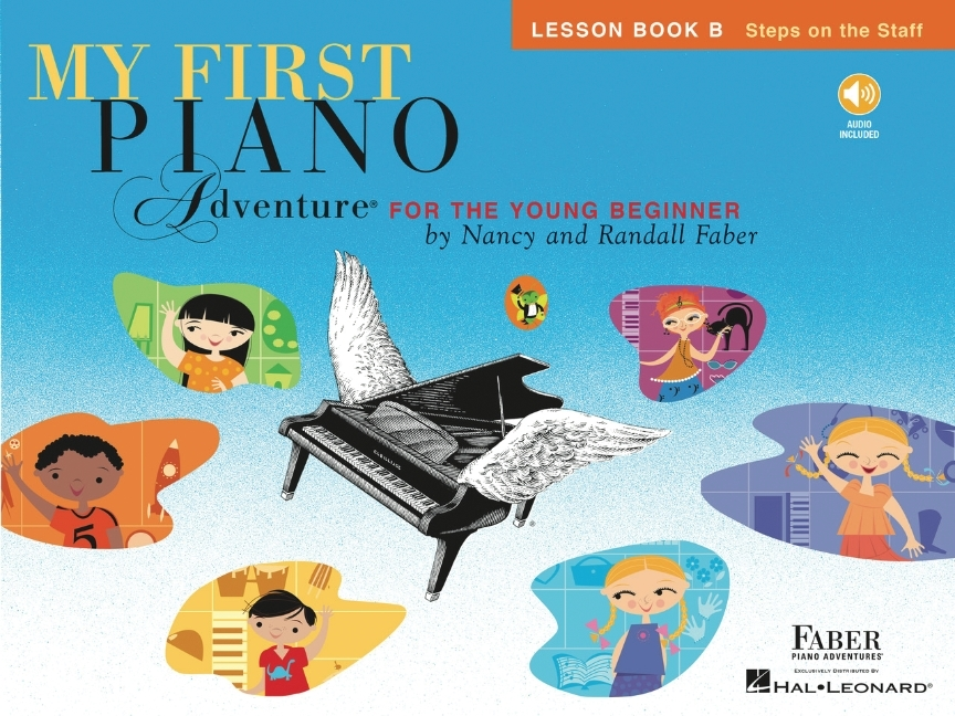 My First Piano Adventure, Lesson Book B: Steps on the Staff: For the Young Beginner (Other)