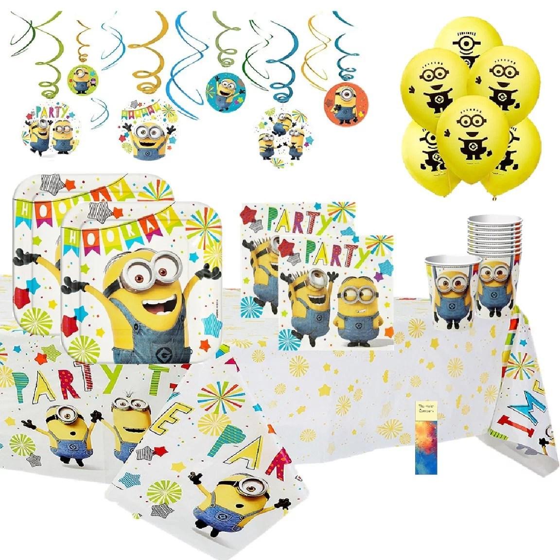 Despicable Me Minion Birthday Party Supplies Walmart Com Walmart Com