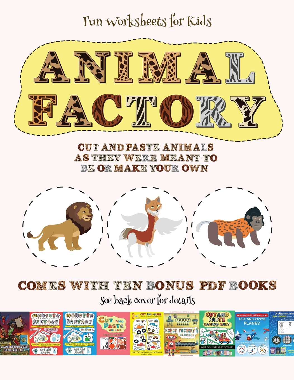 Fun Worksheets For Kids Fun Worksheets For Kids Animal
