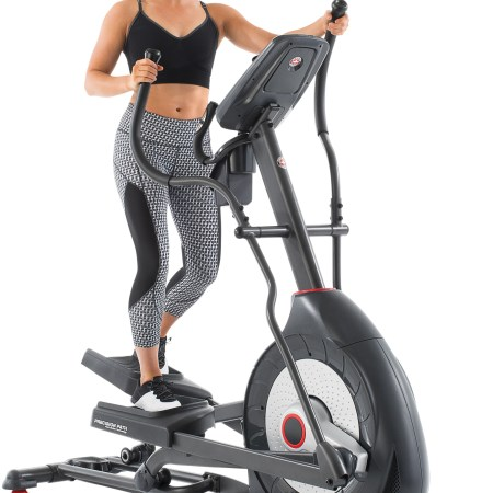 Schwinn 430 HR Enabled Elliptical Trainer with Quick Goals Tracking & 22 Workout Programs