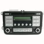 2010 2011 Volkswagen Jetta Oem Am Fm Mp3 Cd Radio Code Included 1k0035161d Refurbished Walmart Com Walmart Com