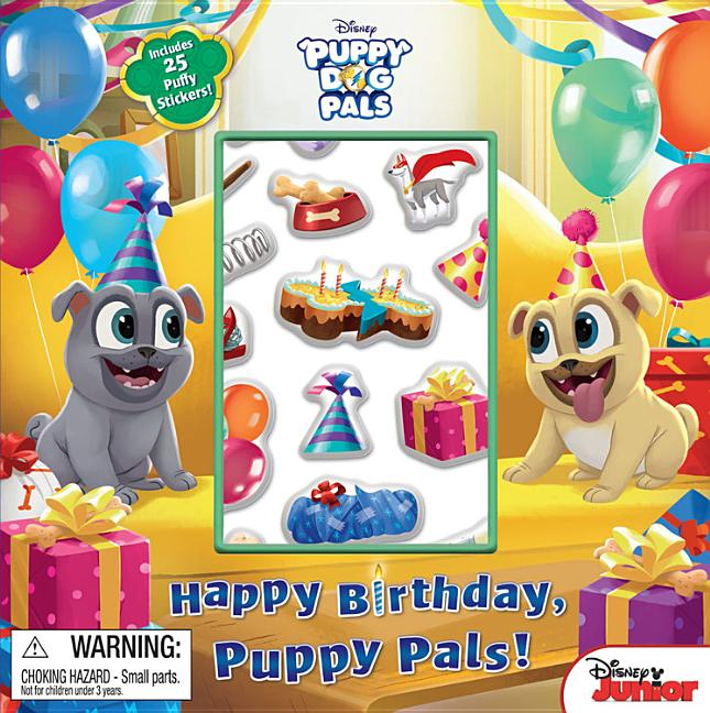 Happy Birthday Puppy Pals Paperback Walmart Com Walmart Com