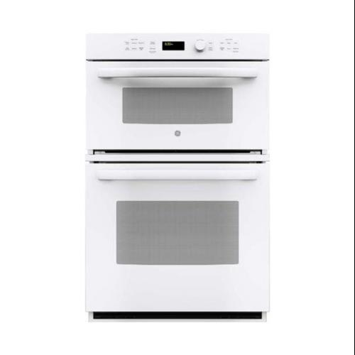 ge appliances jk3800dhww 27 inch electric double wall oven microwave combo white