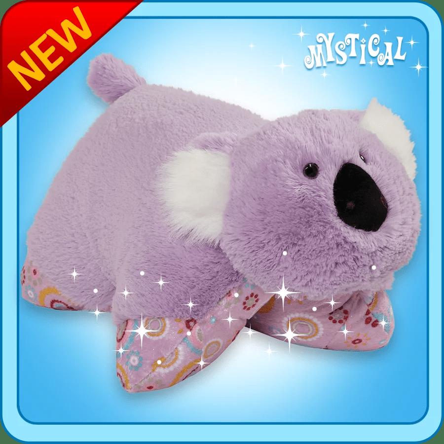 authentic pillow pets mystical koala large 18 plush toy gift