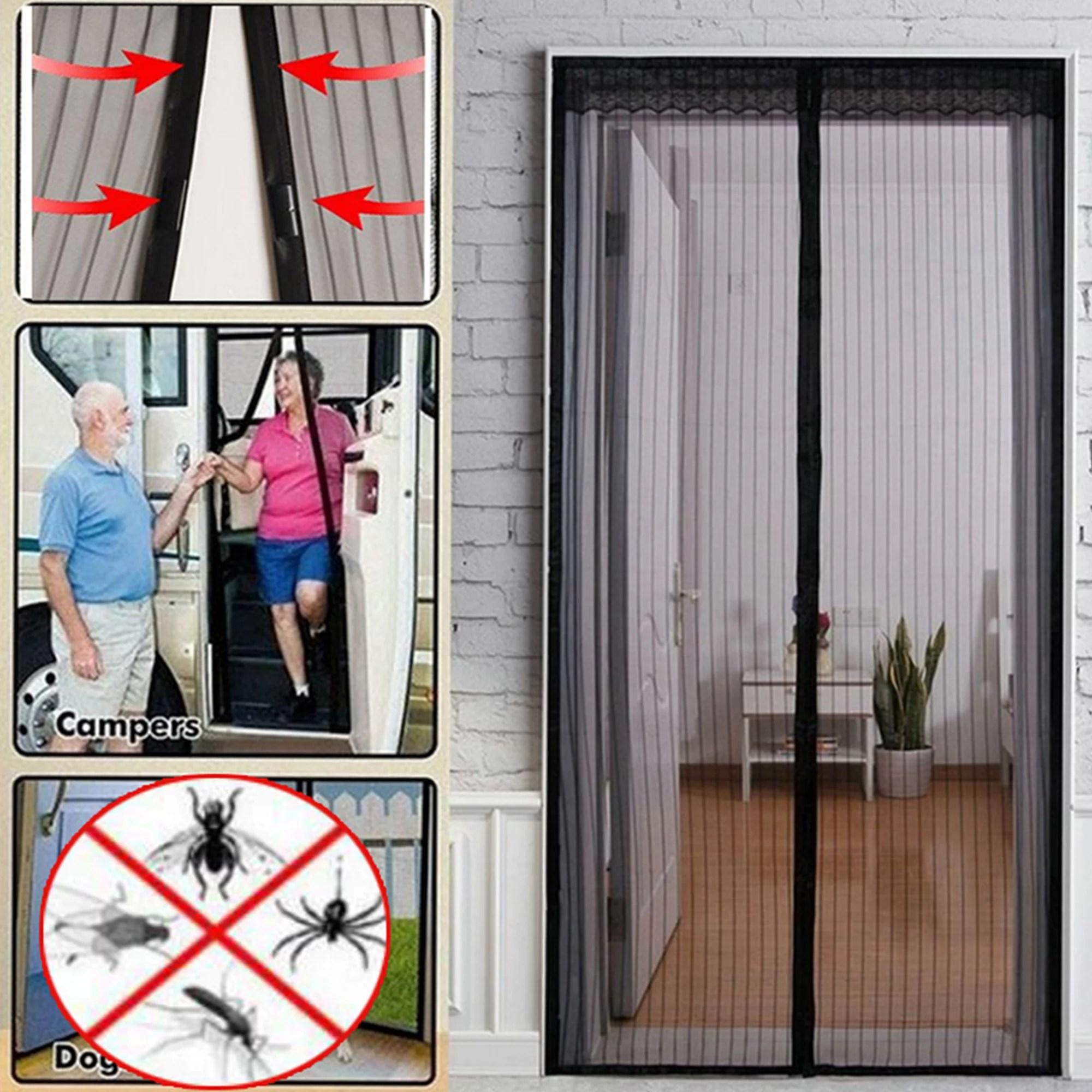 nk home magnetic screen door full frame magnetic door screen with mesh curtain pet friendly door mesh screen with magnet magnetic door screen door