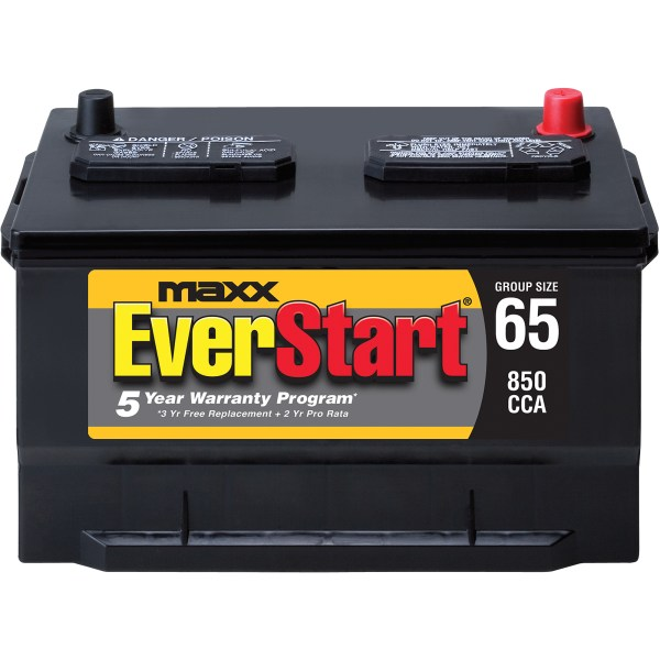 EverStart Maxx Lead Acid Automotive Battery  Group 65n   Walmart com EverStart Maxx Lead Acid Automotive Battery  Group 65n