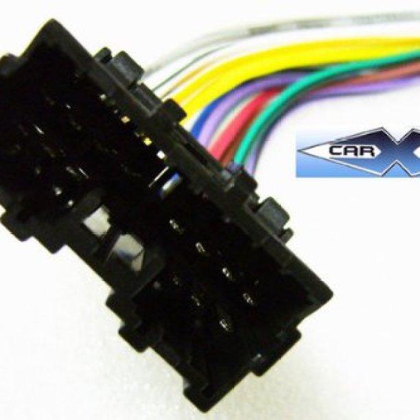 stereo wire harness mitsubishi mirage 97 98 99 01 car radio wiring  installation partscarxtc ship from us