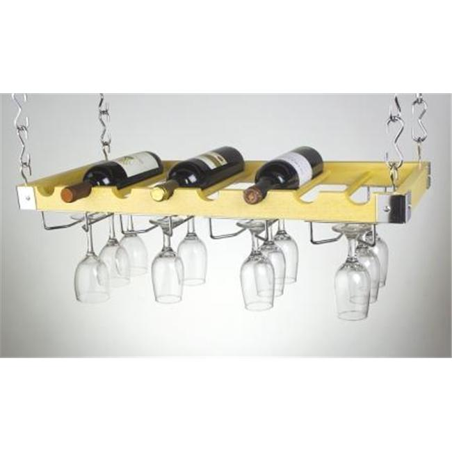 concept housewares wr 40528 bouteille de vin et verre de vin plafond mur de montage en rack 8 bouteilles