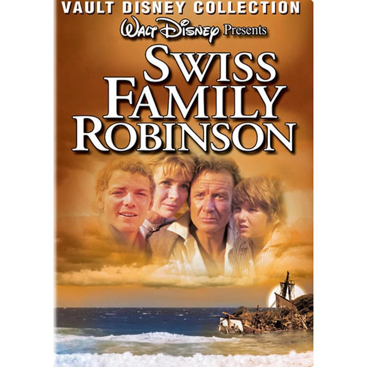 Swiss Family Robinson Vault Disney Collection Dvd