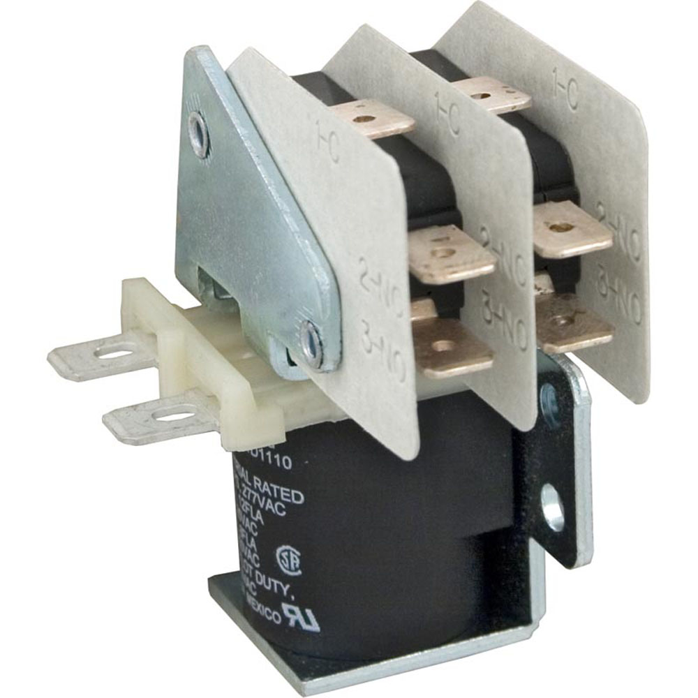 Relay, P and B, S87R11, DPDT, 115vdc