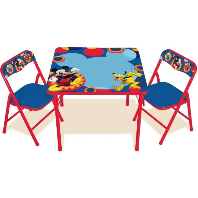 Disney Princess Mickey Mouse Erasable Activity Table Set Walmart