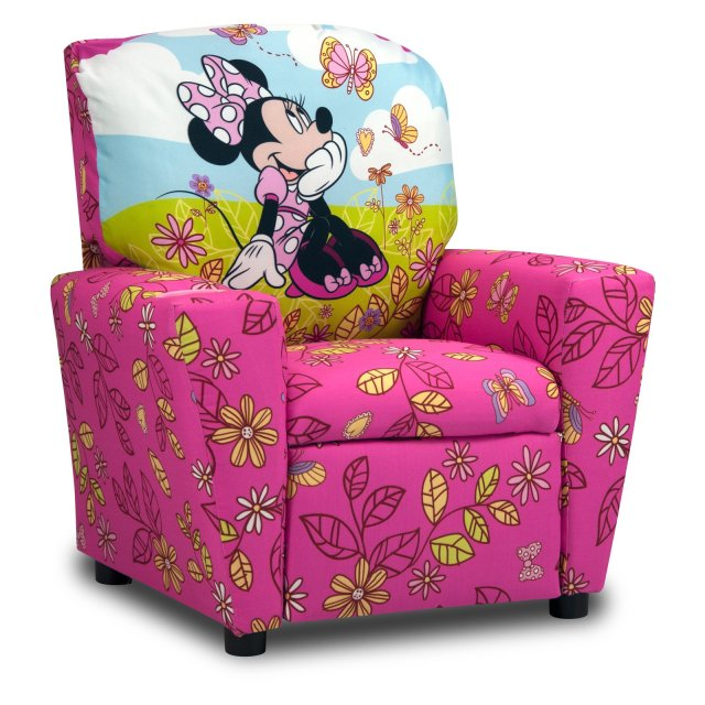 Disney Minnie Mouse Cuddly Cuties Kids Recliner Walmart