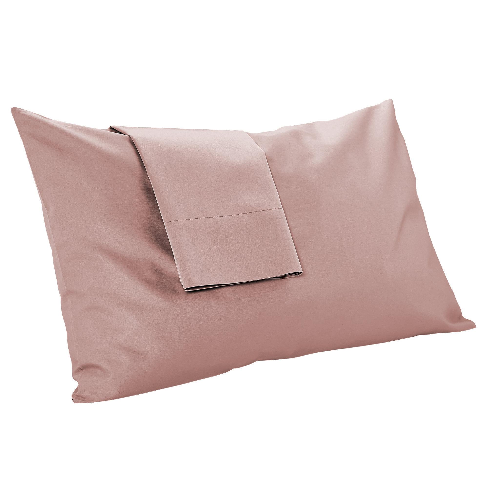 mypillow pillowcase set queen dusty rose long staple egyptian cotton giza dreams