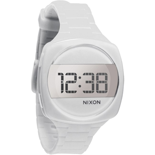 Nixon Men's Dash A168100 White Silicone Quartz Fashion Watch