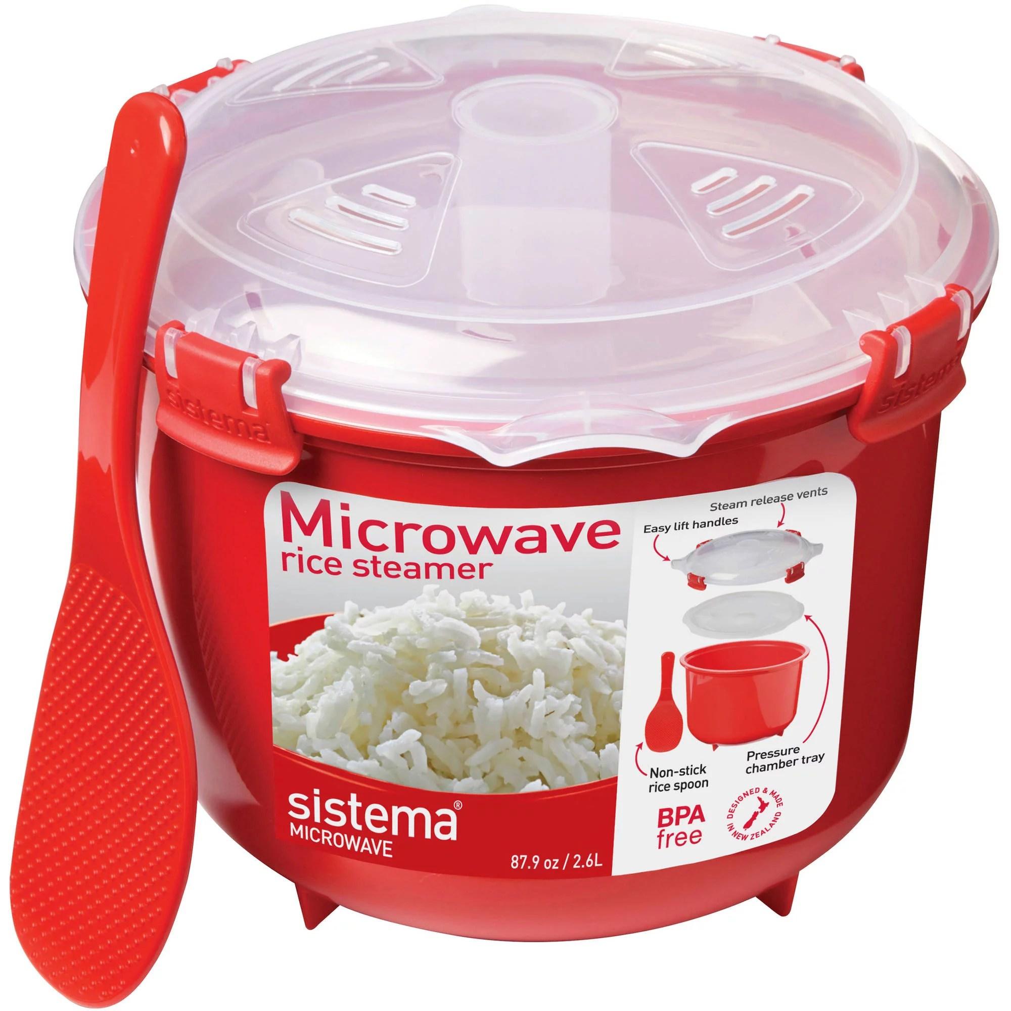 sistema microwave rice steamer walmart com