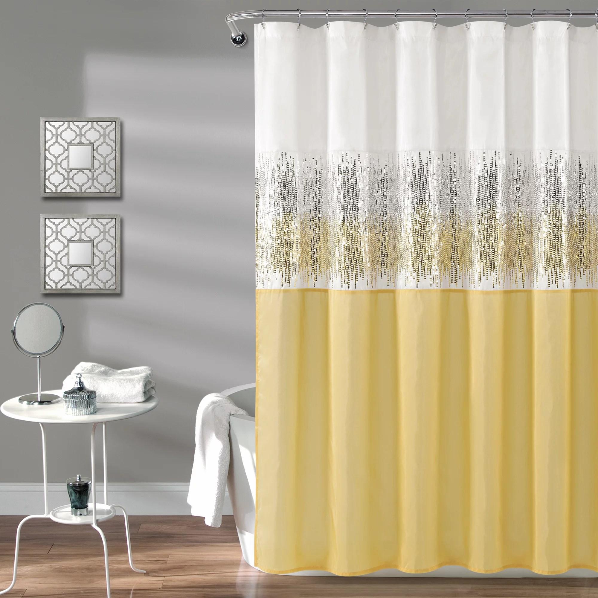 White Shower Curtains Walmart Com