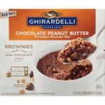 12 Pack Ghirardelli Chocolate Peanut Butter Mug Brownie Mix 9 2 Ounce Box Walmart Com Walmart Com