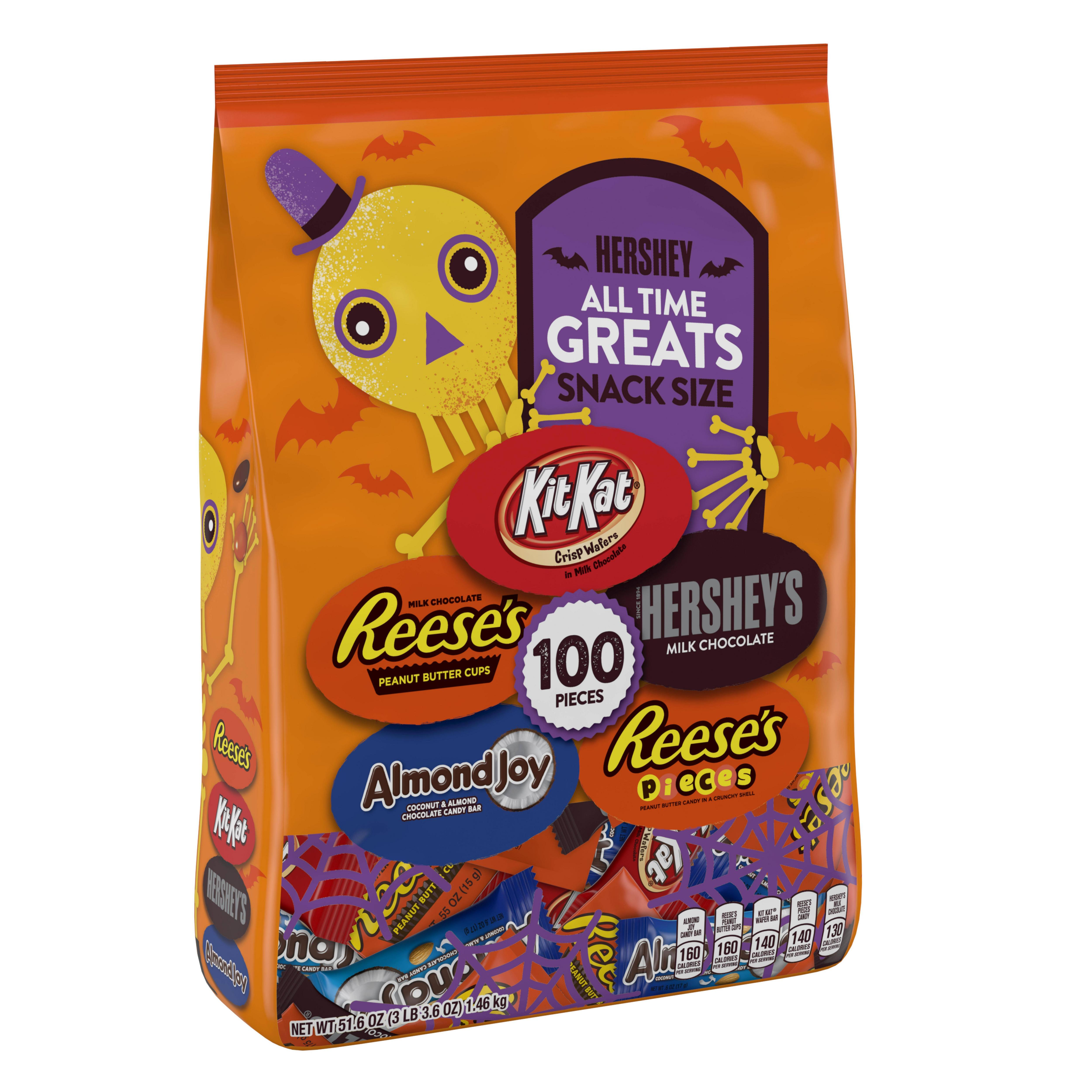 Hershey S Halloween All Time Greats Snack Size Chocolate