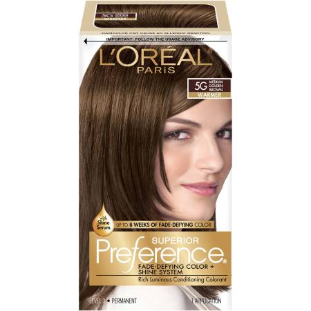 l oreal paris superior preference fade defying color shine system walmart