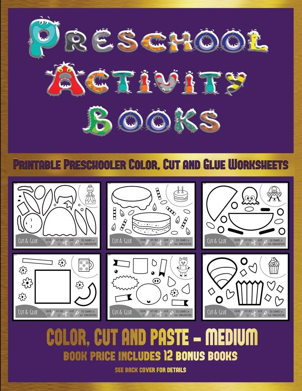 Printable Preschooler Color Cut And Glue Workshee