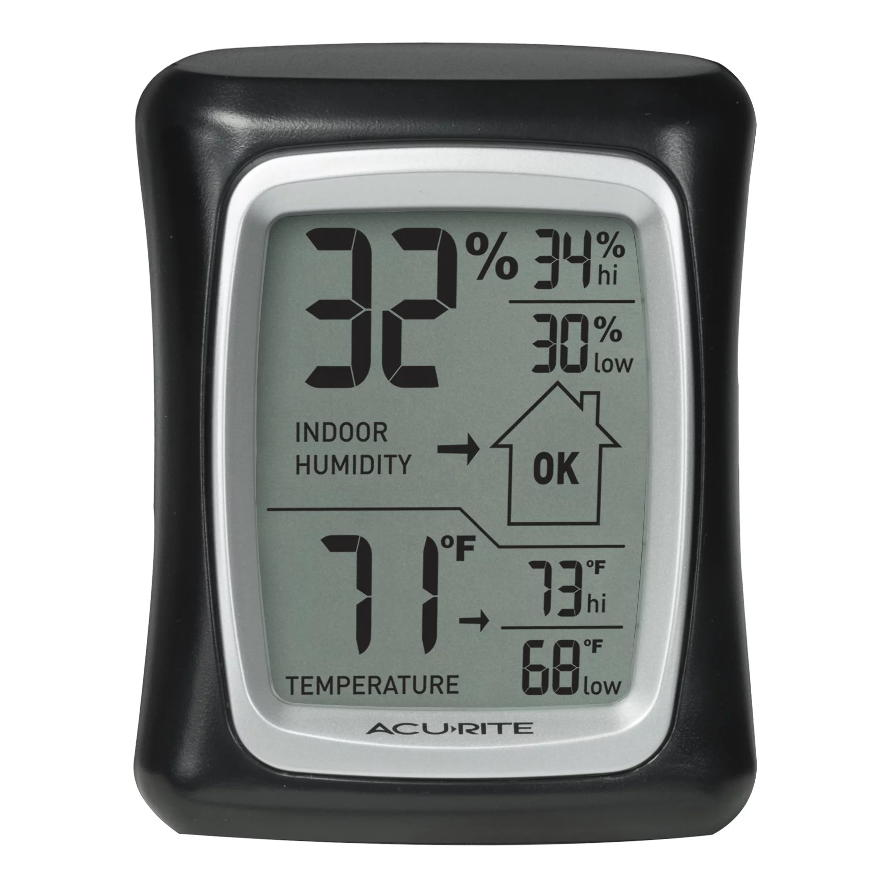 acurite indoor thermometer and hygrometer with humidity gauge 00325