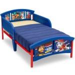 Delta Children Nick Jr Paw Patrol Plastic Toddler Bed Blue Walmart Com Walmart Com