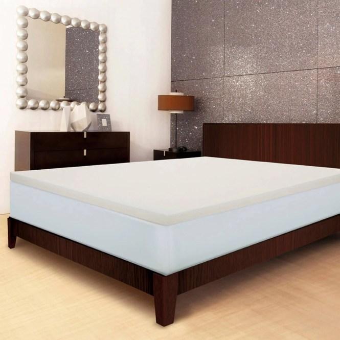 Sleep Innovations 2 Memory Foam Mattress Topper