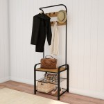 Rustic Free Standing Coat Rack Marcuscable Com