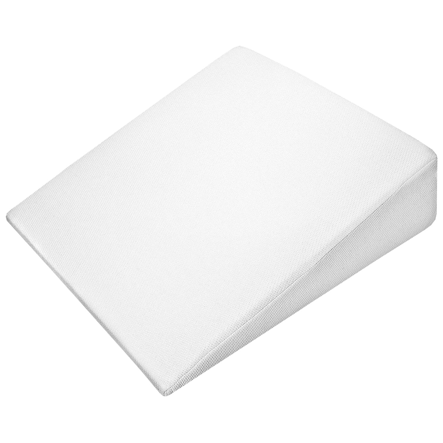 Support Plus Bed Wedge Pillow Premium Hybrid Memory Foam