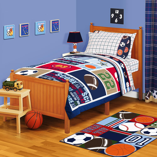 American Kids All Stars Twin Or Full Reversible Comforter