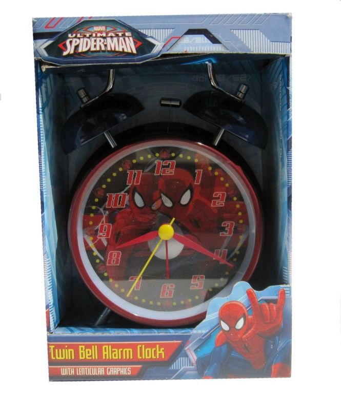 Marvel Ultimate Spider Man Twin Bell