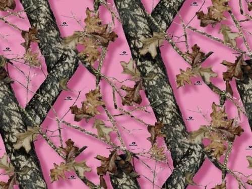Pink Mossy Oak Break Up Pink Camo Print Birthday 1 2 Size Frosting Sheet Cake Topper Edible Image Walmart Com Walmart Com