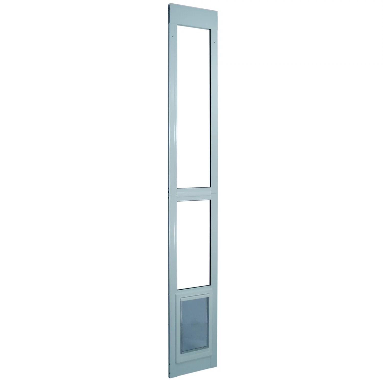 ideal pet products patio dog door white medium 79 l x 1 88 w x 10 75 h walmart com