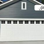 Magnetic Garage Door Windows Now 2x Stronger Decorative Black Window Decals For Two Car Garage Magnets Hardware Set Fa Walmart Canada