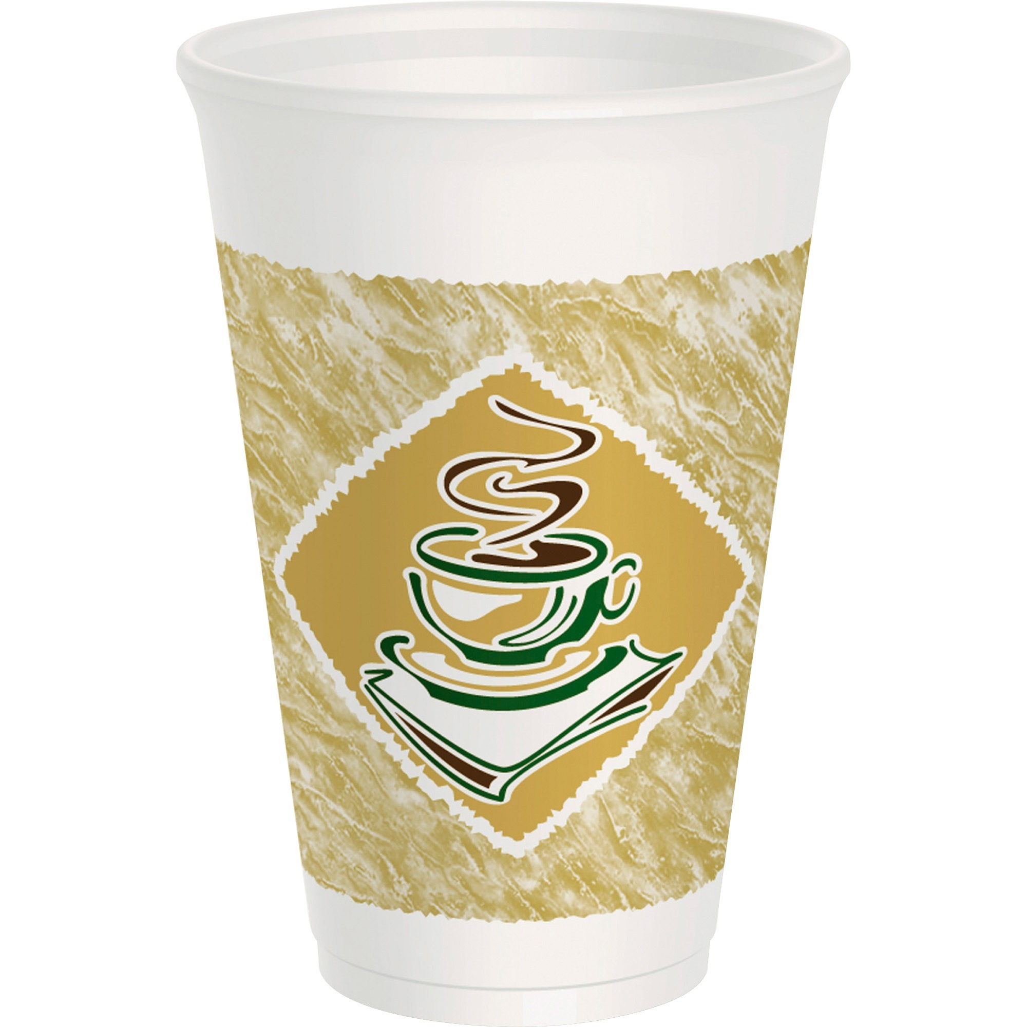 Dart Cafe G 16 Ounce Foam Hot/Cold Cups, 1000ct