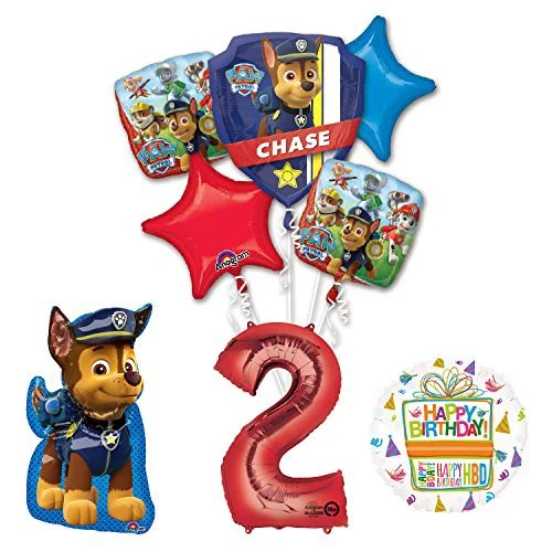 The Ultimate Paw Patrol 2nd Birthday Party Supplies And Balloon Decorations Walmart Com Walmart Com