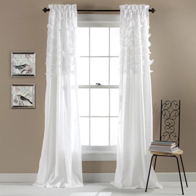 Lush Decor Flutter Erfly Kid S Shower Curtain