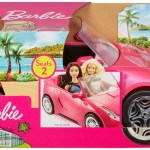 Barbie Estate Play Vehicle Signature Pink Convertible With Seat Belts Walmart Com Walmart Com