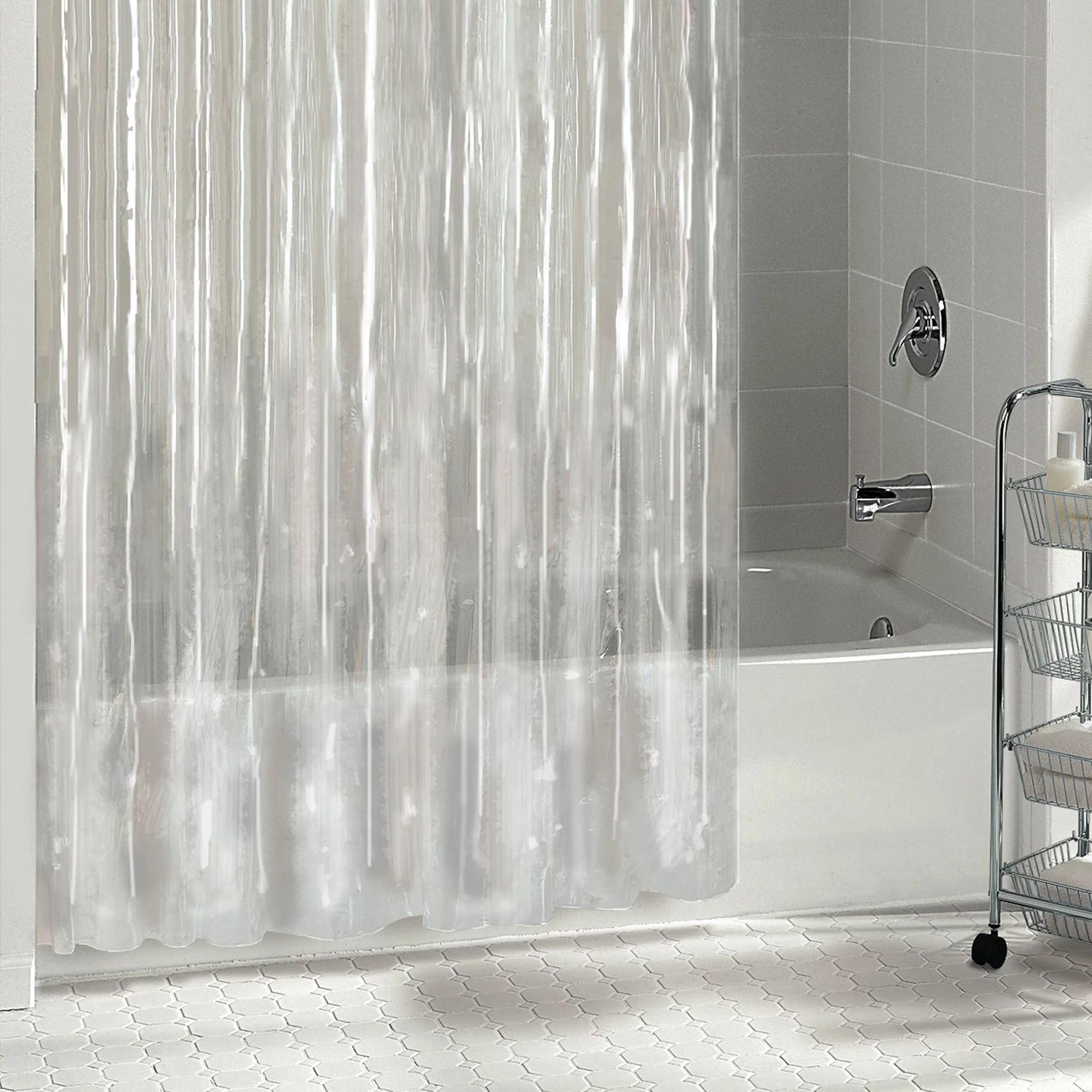 mainstays shower liner medium thickness clear