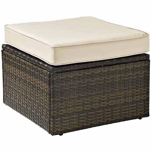 Crosley Furniture Palm Harbor Outdoor Wicker Ottoman