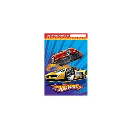 Amscan 190104 Hot Wheels Speed City Treat Bags