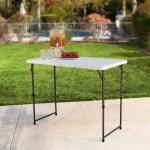 Adjustable Folding Tables Walmart Com