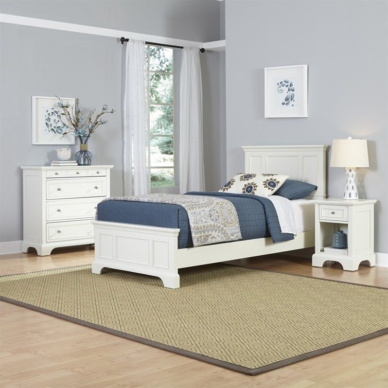 home styles naples twin bedroom set multiple configurations